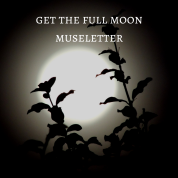 Full Moon muse letter graphic